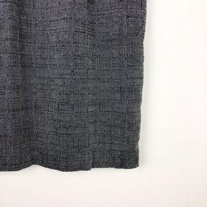 Adams Apple Skirts - Adams Apple Gray Vintage Pencil Skirt